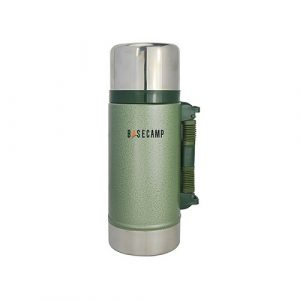 BaseCamp Wide Mouth Stainless Steel Vacuum Flask 750ml   BCVG075